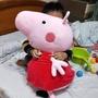 超大佩佩豬玩偶