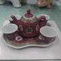 早期-景德鎮 茶壺- 含杯子