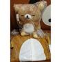 愛熊家_正版拉拉熊_懶熊嬰兒服+搖搖鈴懶熊