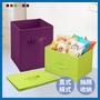 收納折疊櫃 直式/橫式設計 多色三層櫃抽屜 收納抽屜 置物籃 置物櫃用抽屜籃【U0011】
