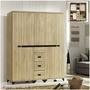 【欣生活】可立亞 6.5尺 衣櫃 衣櫥 系統櫃 《台灣製》