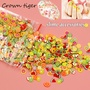slime filler 1000pcs Fruit slices Filler For Nails Art Tips Slime Fruit For Kids Lizun DIY slime Accessories Supplies Decoration