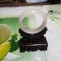 蠶絲白玉/綠玉手鐲