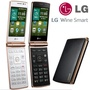 [Exports Set]LG Wine Smart F480 / T480 Flip Phone With Android v4.4 KitKat /mobile phone