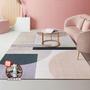 【巴芙洛】北歐簡約時尚水晶絨地毯140*200CM(水晶絨/地毯/防滑/踏墊/止滑地墊/毯)