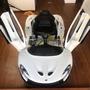 二手電動兒童車 正版麥拉倫跑車。電動車 極新