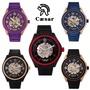 Caesar凱薩 細緻鏤空機械手錶(CA-1021)