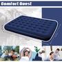 戶外露營 Bestway 67003 立柱植絨充氣床墊(雙人加大).蜂巢結構空氣床墊睡墊氣墊床野營床露營床彈簧床