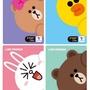 現貨∼【LINE FRIENDS】韓國T-money交通卡(熊大/兔兔/莎莉/choco)