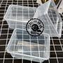 巧緻烘焙網【編號U054】0.7L 1L PP保鮮盒 千層蛋糕盒 餅乾盒 方形塑膠盒 0.7公升 700ml 保鮮盒 1公升 1000ml