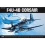 ACADEMY 愛德美 1/48 F4U-4B Corsair 海盜船戰鬥機