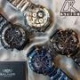 -DTK-官方授權經銷🎖實體店面 BALMER 賓馬王 賓馬7975 鋼錶帶 三眼錶 男錶 石英錶 藍金 黑金 黑
