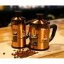 歡勝商貿3063 專櫃lbeans精品304不鏽鋼古銅法式濾壓壺600ml 不鏽鋼咖啡法壓壺 咖啡手沖壺 星巴克