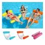 充氣浮床水上浮床泳池休息室吊床游泳椅