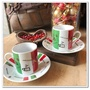 Espresso 義式 濃縮 咖啡杯盤組-2個一組 全新現貨 [玩泥巴]