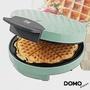 (福利品)比利時DOMO-菱格紋鬆餅機DM9007WT