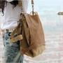 日韓系書包休閒單肩背包雙肩包三用帆布旅行包後背包