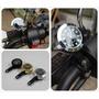 熱賣摩托車電動踏板鬼火巧格電子儀表配件改裝飾品車載時鐘表夜光防水