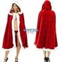 聖誕節 耶誕節 表演服 戲劇 披風 外套 斗篷 (1.2米長) 聖誕節服裝 成人男女通用 性感披風【塔克】