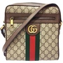 【GUCCI 古馳】547926 Ophidia GG郵差包(棕色)