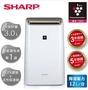 SHARP 夏普 除濕機 12L自動除菌離子HEPA除菌除濕機 DW-H12FT-W