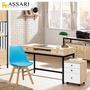 【ASSARI】鋼尼爾4尺電腦桌(寬119x深58x高80cm)