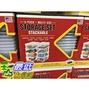 [COSCO代購]  單次運費只限購一組  IRIS STORAGE BOXES 8 PACK 13.5Q 多功能收納盒8入 可推疊附上蓋/12.7公升 C706674