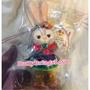 《現貨》2018日本迪士尼 復活節 達菲Duffy雪莉玫 畫家貓傑拉托尼 史黛拉Stella 彩虹裙 站姿吊飾