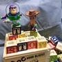 玩具總動員字母積木/皮克斯/ToyStory積木/玩具總動員/益智玩具/字母積木