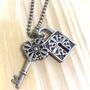 全新 韓國 復古 鑰匙 鎖頭 造型項鍊