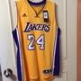 NBA Kobe 24 黃色 球衣 adidas 多年收藏 全新