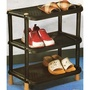 【三層多用途巧用架(不含擺設物)】001617 鞋架置物架 鞋櫃 鞋架 置物架 放鞋架 多用途置物架