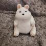 🇯🇵日本宮崎駿 神隱少女角色 胖老鼠玩偶 超Q的🥰