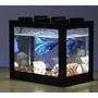 YR118【(不帶燈) 積木魚缸】迷你水族箱 辦公室 水族箱 造景 水草 生長燈 LED 養鬥魚