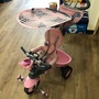 Smart trike 四合一 腳踏車 寶寶推車 三輪車