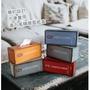 【三房兩廳】工業風貨櫃屋復古風面紙盒(貨櫃屋款/復古風/衛生紙盒/抽紙面紙盒)