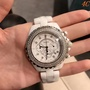 ㊝   Chanel 香奈兒J12女士腕錶 手錶陶瓷錶帶 43mm 進口石英機芯 女錶 免運(出貨前可拍視頻確認)465