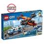 雙11限定【LEGO 樂高】城市系列 航警鑽石搶戰 60209 積木 警察(60209)