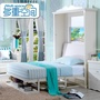 ❤鋒鋒批發❤歐式韓式田園隱形床壁床折疊午休床隱藏床翻板床壁柜床