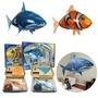 【現貨】充氣遙控飛鯊魚 小丑魚 紅外線遙控 空中充氣 兒童親子互動益智玩具 充氣空中鯊魚小丑魚