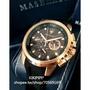 KIKIPIPI*瑪莎拉蒂手錶MASERATI手錶SFIDA款,編號:MA00214,黑色錶面黑色矽膠錶帶款