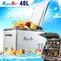 【露營趣】贈保護套 公司貨享保固 艾凱 Alpic Air C40 行動冰箱 40L 車用冰箱 車載冰箱 壓縮機急凍-20度 (WAECO可參考)