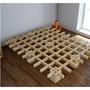 Quagga Designs 單人床架 雙人床架 床架 易組裝 拆卸 收納 樺木 實木 COSTCO 代購 好市多