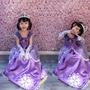 萬聖節兒童服裝灰姑娘蘇菲亞公主裙女童cosplay角色扮演演出禮服