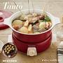 recolte 日本麗克特 Tanto調理鍋1.9L(含章魚燒烤盤)-經典紅