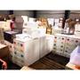 [全新NG福利品庫存出清]日本 IRIS 米色天板鈕扣四、五層各款式收納櫃 整理櫃 抽屜櫃 衣物櫃