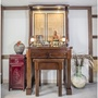 3尺6時尚日式胡桃木神桌家具佛桌供桌【歡喜地佛教文物】