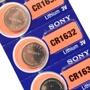 水銀電池CR1632 SONY鈕扣電池 手錶電池 鋰錳電池【DO269】