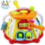 🤓現貨🤓匯樂 16合1益智學習寶盒 /益智玩具 /6面聲光遊戲