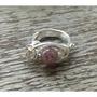 草莓晶手工銅線戒指